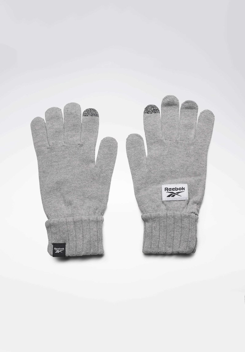 Reebok - ACTIVE FOUNDATION KNIT GLOVES - Rękawiczki pięciopalcowe - grey