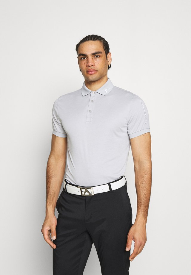 TOUR TECH SLIM FIT GOLF - Poloskjorter - stone grey melange