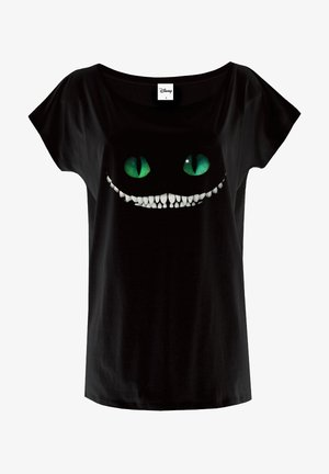 OVERSIZE - Print T-shirt - schwarz