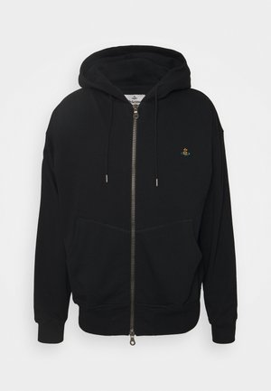 RUGGED ZIP HOODIE - Mikina na zip - black