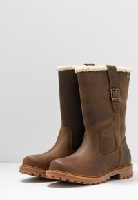 Barbour - CHOPWELL BOOT - Winter boots - umber - 4