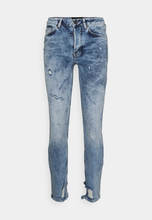 Jeans slim fit - washed indigo