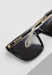 Gucci - Sunglasses - black/crystal/grey - 3