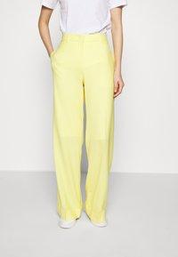 PS Paul Smith - Kalhoty - lemon - 0
