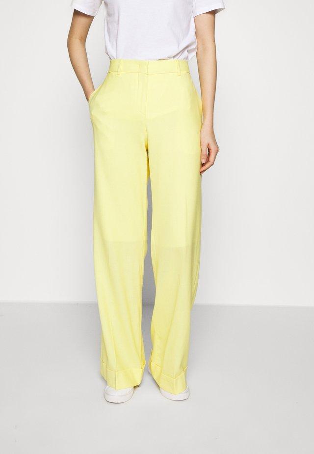 Kalhoty - lemon