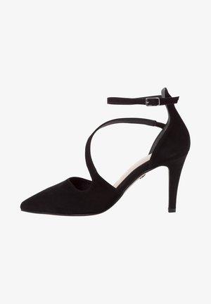 Classic heels - black suede
