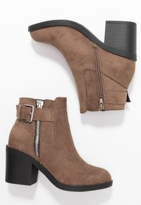 Even&Odd Wide Fit - Ankle boot - taupe - 3