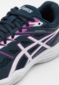 ASICS - UPCOURT GS UNISEX - Zapatillas de balonmano - french blue/digital grape - 5