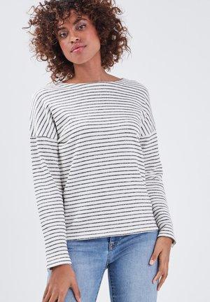 Long sleeved top - bleu foncé