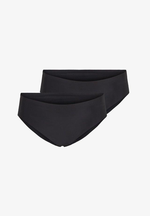 2ER PACKUNG - Slip - black