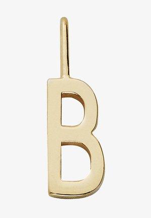 ARCHETYPE CHARM 10MM - B - Charm - gold-coloured