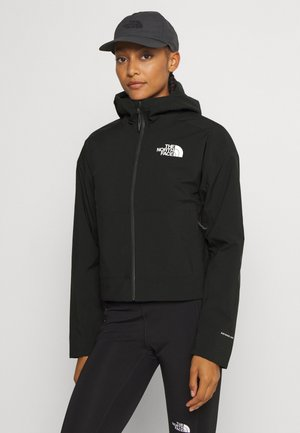 W FL INSULATED JACKET - Hardshell jacket - black