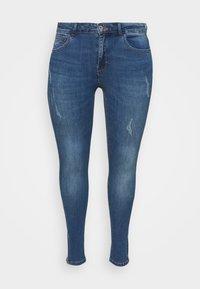 ONLY Carmakoma - CARKARLA - Jeans Skinny Fit - medium blue denim - 0