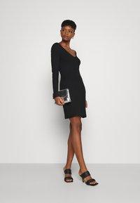 Even&Odd - Jersey dress - black - 1