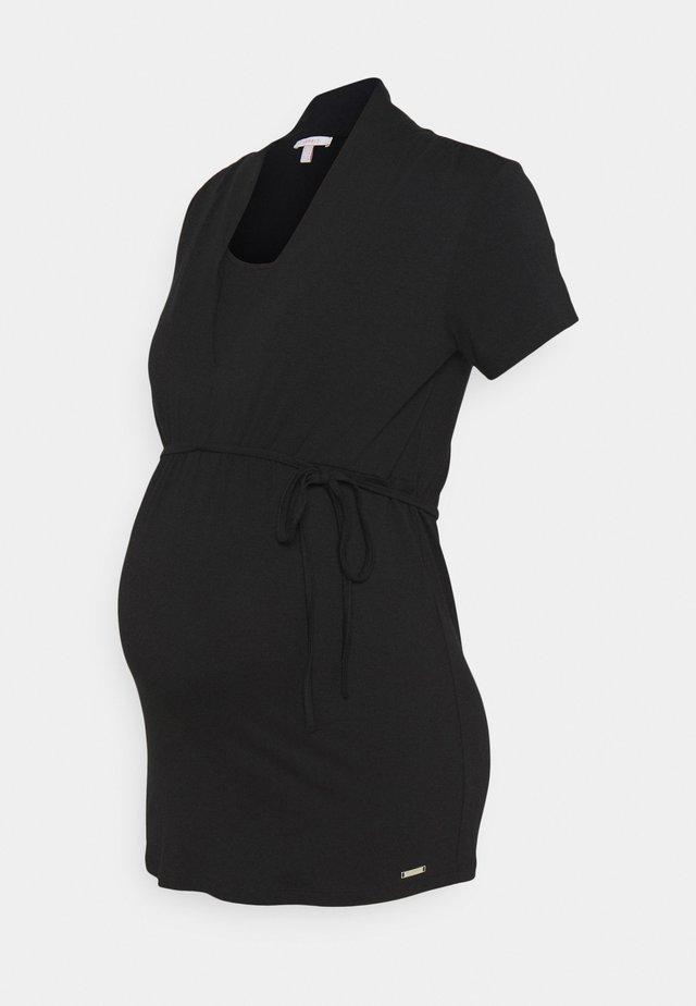 NURSING - T-shirt print - black