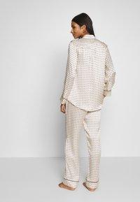 ASCENO - THE LONDON BOTTOM - Pantaloni del pigiama - cream - 2