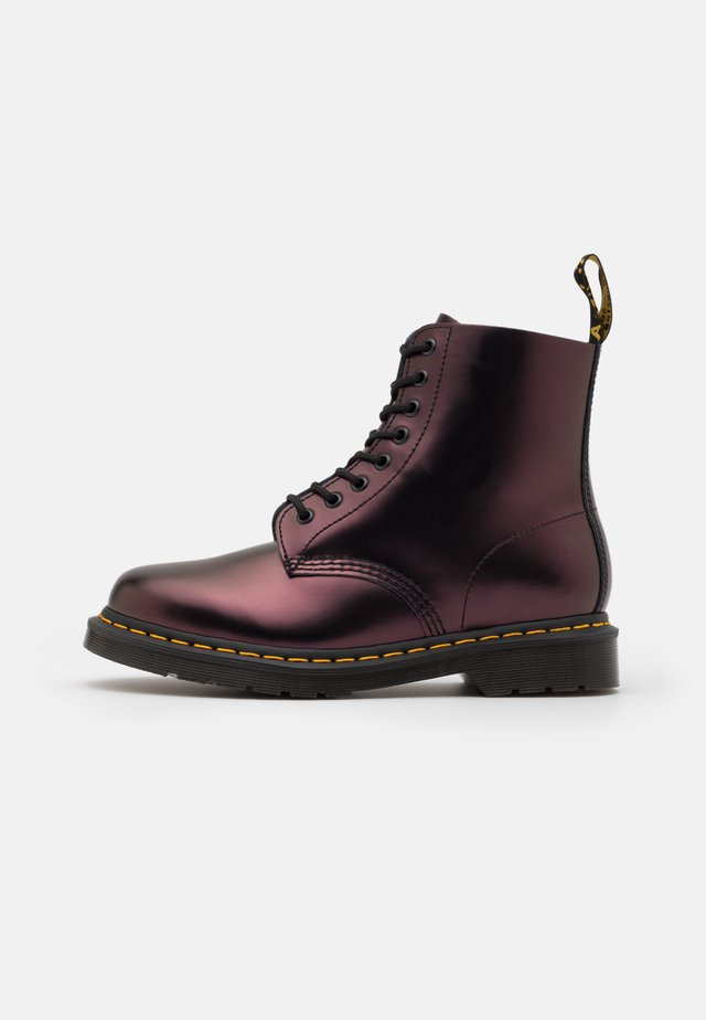 1460 PASCAL UNISEX - Lace-up ankle boots - red chroma