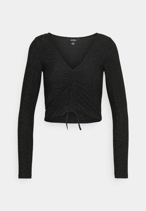 OLLE - T-shirt à manches longues - black dark