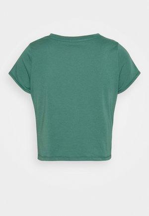 TWISTED  - Print T-shirt - blue spruce