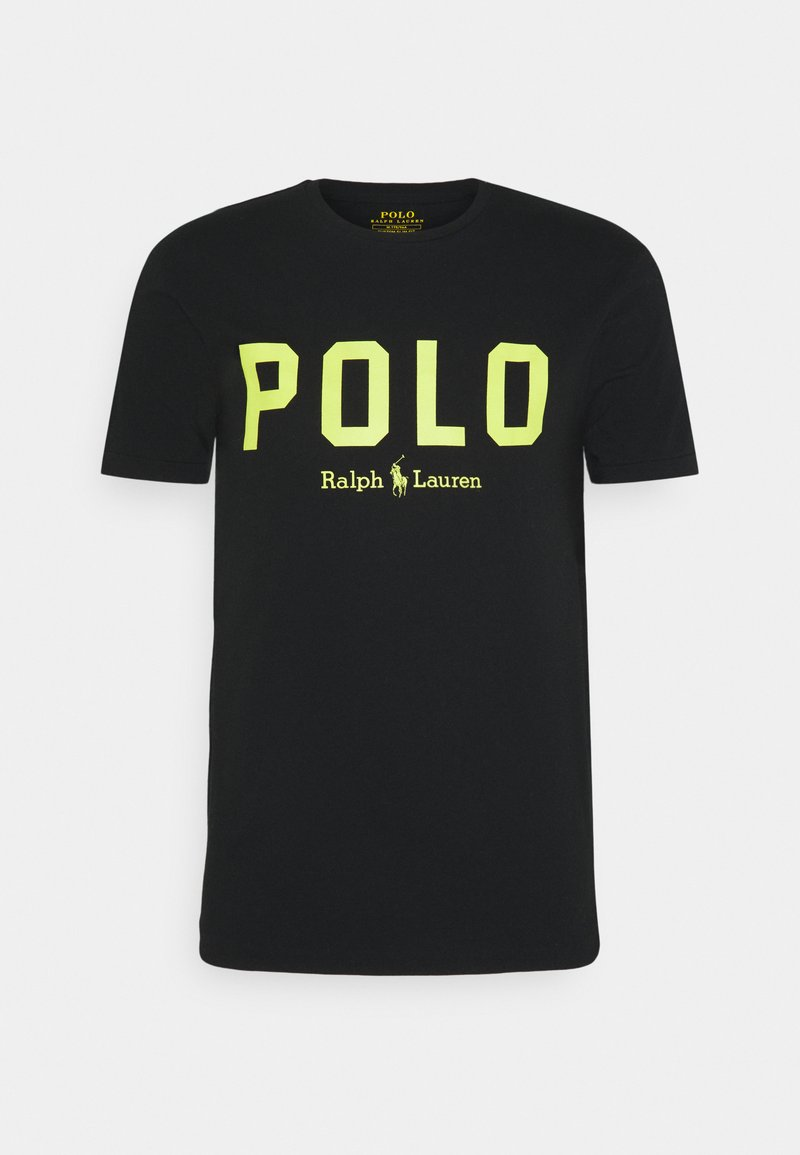 Polo Ralph Lauren - T-shirt con stampa - black/bright