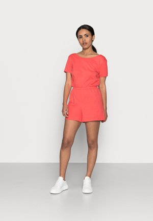 ONLMAY LIFE PLAYSUIT 2 PACK - Jumpsuit - cayenne/allure w. cloud dancer