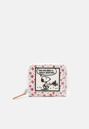COMPACT CONTINENTAL WALLET - Wallet - warm cream