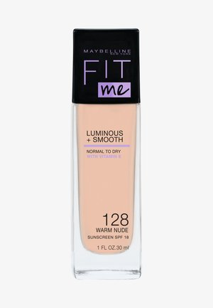 FIT ME! LIQUID MAKE-UP - Fondotinta - 128 warm nude