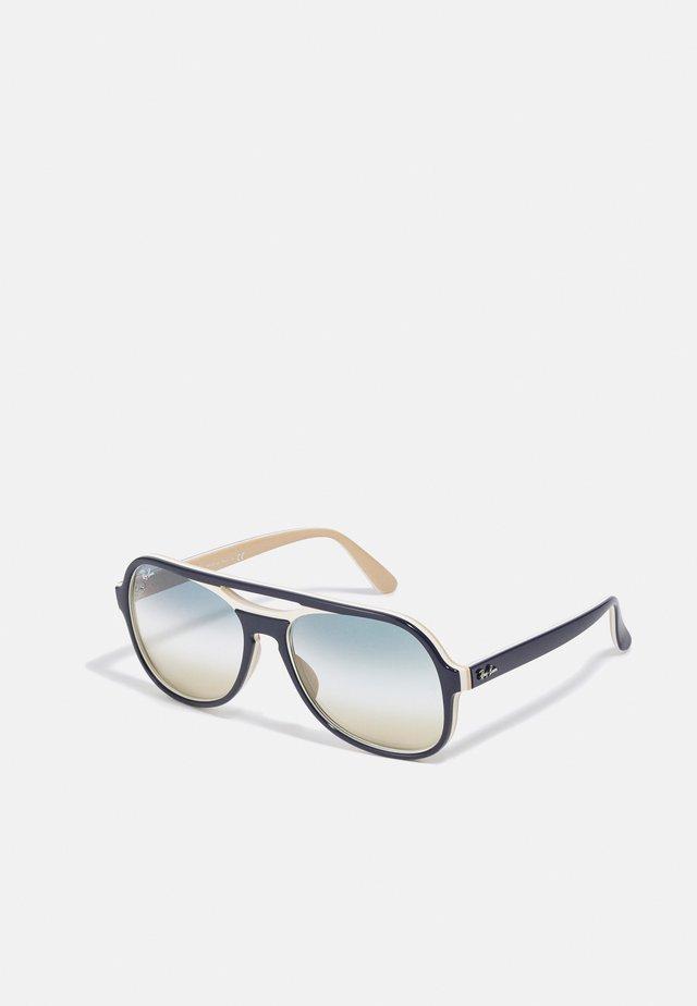Sluneční brýle - blue/creamy light brown