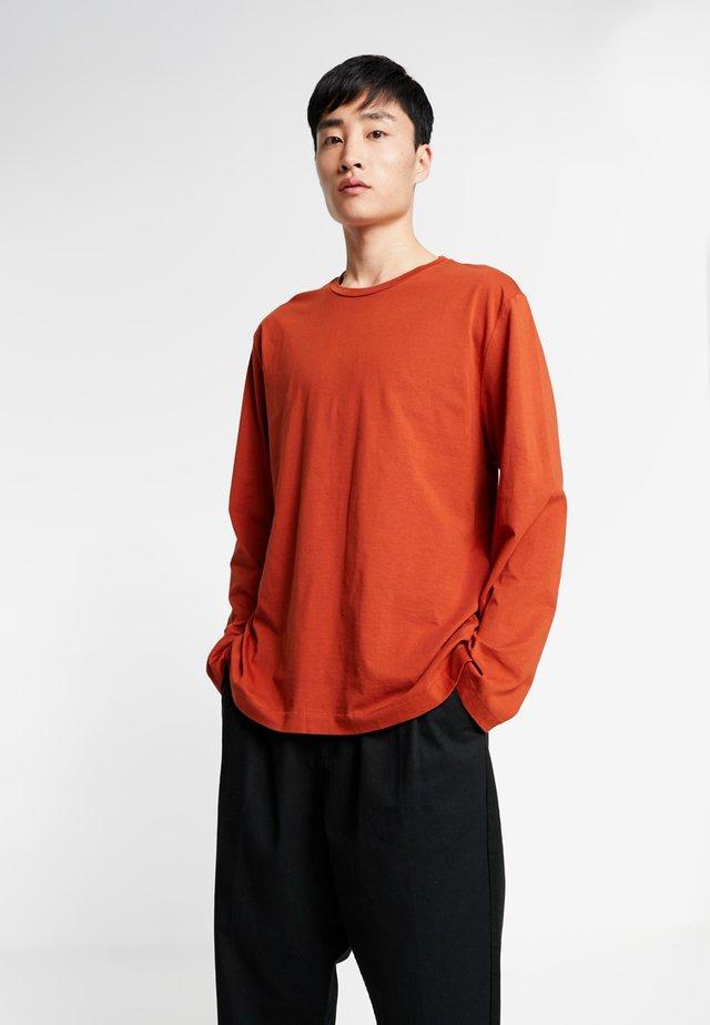 LONG SLEEVE - Long sleeved top - rust