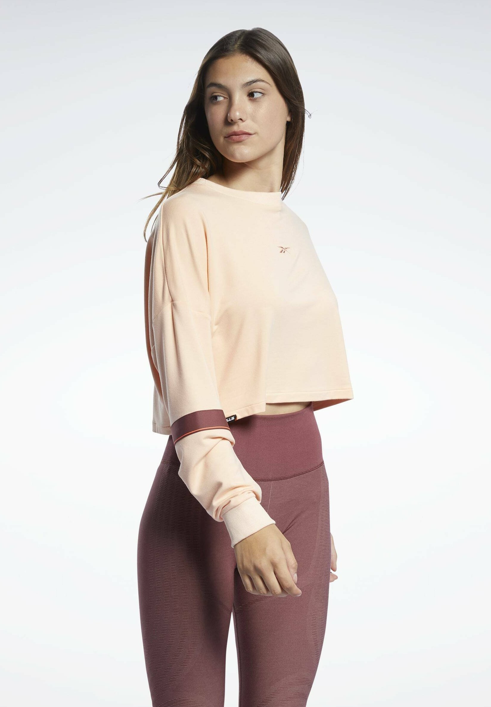 Women LES MILLS® LIGHTWEIGHT FRENCH TERRY CREW SWEATSHIRT - Sweatshirt