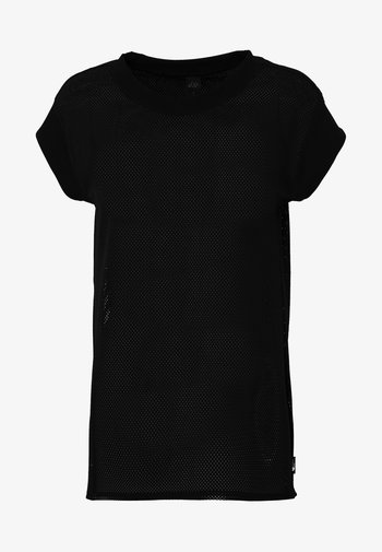WOMENS ACTIVE TRAIL - Print T-shirt - black