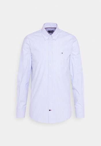 POPLIN WIDE STRIPE SLIM FIT