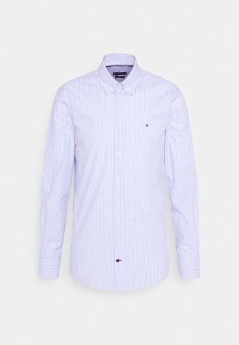 WIDE STRIPE SLIM FIT - Skjorta - light blue/white