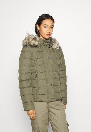 Winter jacket - deep lichen green
