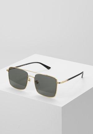 Solbriller - gold-coloured/black
