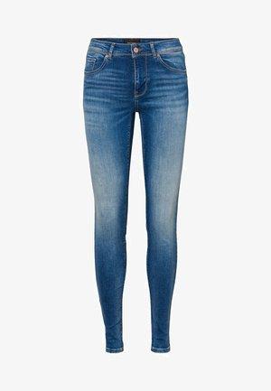 VMLUX - Jeans Skinny Fit - medium blue denim