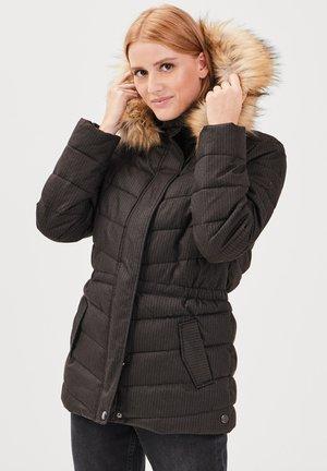 MIT KAPUZE - Winter jacket - gris foncé