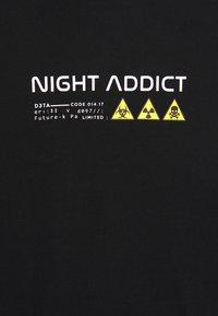 Night Addict - UNISEX RILEY - Pitkähihainen paita - black - 3