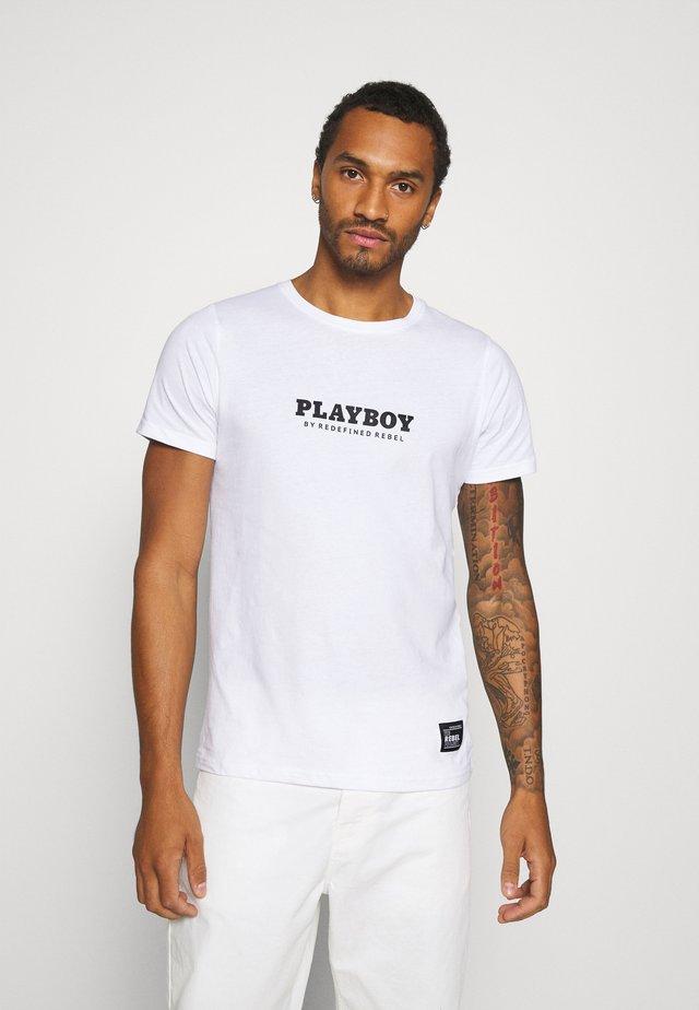 JAMIE TEE - T-shirts med print - white
