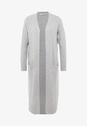 LONG CARDIGAN - Kardigan - light grey