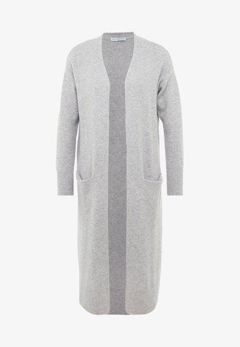 LONG CARDIGAN - Cardigan - light grey