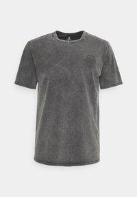 Converse - FASHION CUT AND SEW TEE - Print T-shirt - black - 4