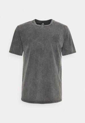 FASHION CUT AND SEW TEE - Camiseta estampada - black