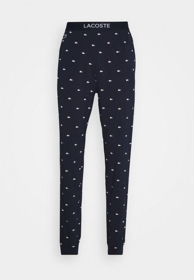 Bas de pyjama - marine/blanc