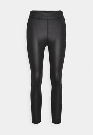 MODERN SPORTS 7/8 SHINY  - Leggings - black
