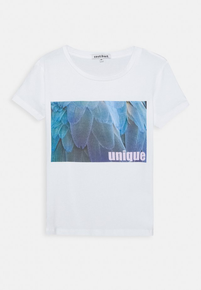 KELLY TEE - T-shirt con stampa - bright white