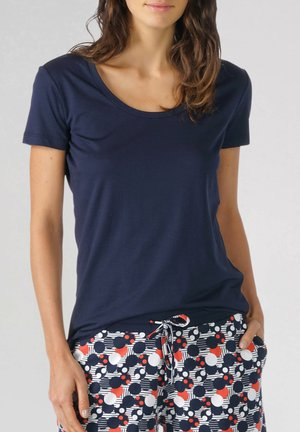 T-SHIRT SERIE NIGHT2DAY - Pyjama top - night blue