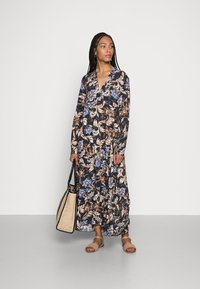 Emily van den Bergh - DRESS - Maxi dress - navy/brown - 1