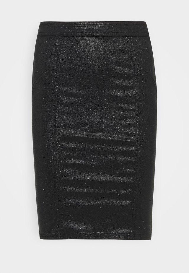PCSKIN PARO SKIRT  - Pencil skirt - black