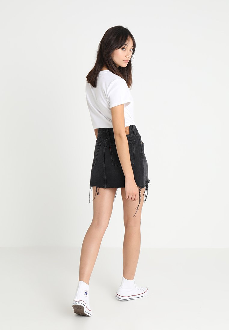 Donna DECONSTRUCTED SKIRT - Gonna di jeans